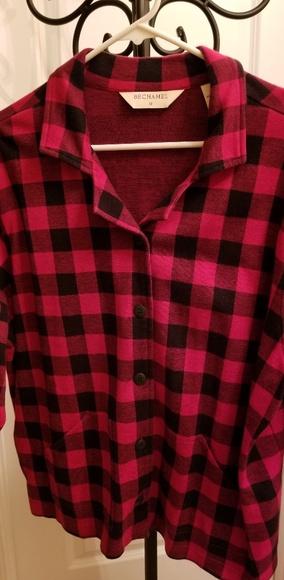 Bechamel I I Jackets & Blazers - Red&black buffalo check, light jacket,blazer,shirt